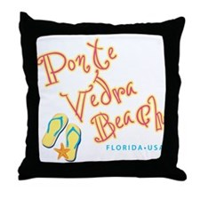 Ponte Vedra Beach - Throw Pillow