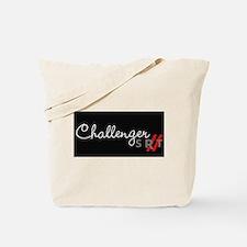 Challenger Racing Stripes Tote Bag