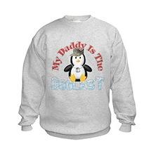 Daddy is the Coolest Penguin Sweatshirt
