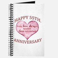 55th. Anniversary Journal