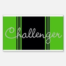 Challenger Stripes Decal