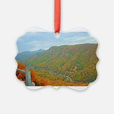 Hiking Through the Glorious Appalachians Ornament