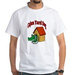 Cajun Yard Dog White T-Shirt