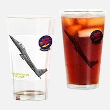 F15logo10x10_apparel copy Drinking Glass