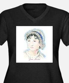 Jane Austen Painting Plus Size T-Shirt