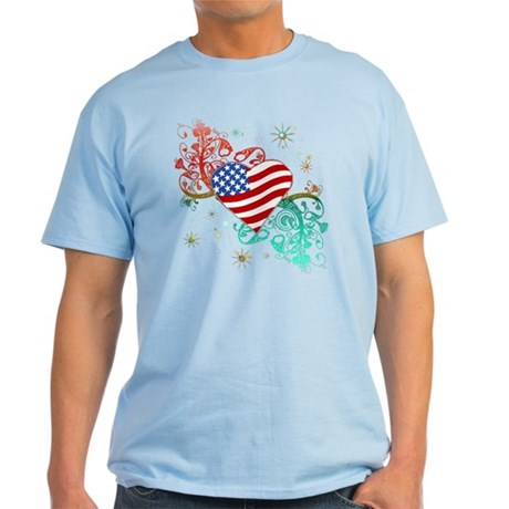 Fourth Of July Fireworks Light T-Shirt