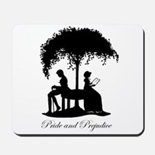 Pride and Prejudice Darcy and Lizzie Mousepad