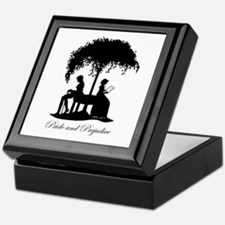 Pride and Prejudice Darcy and Lizzie Keepsake Box