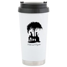 Pride and Prejudice Darcy and Lizzie Travel Mug