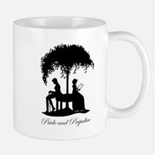Pride and Prejudice Darcy and Lizzie Mugs