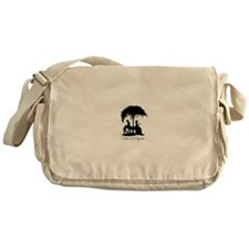 Pride and Prejudice Darcy and Lizzie Messenger Bag