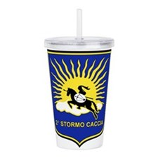 2o Stormo.png Acrylic Double-wall Tumbler