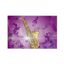 Saxophone with key notes Magnets