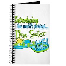 World's Best Big Sister Journal