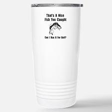 Cute Can i help you Travel Mug