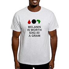 Melanin for white shirts T-Shirt