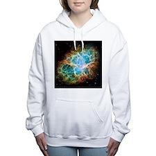 Crab Nebula Women's Hooded Sweatshirt