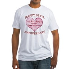 65th. Anniversary Shirt