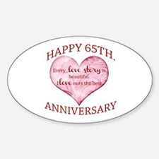 65th. Anniversary Decal