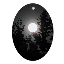 Wolfie Ornament (oval)