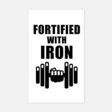 Fortified With Iron Decal