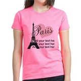 Paris Women's Dark T-Shirt