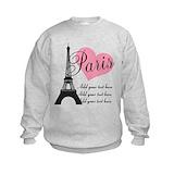 Eiffel tower Crew Neck