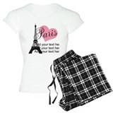 Paris T-Shirt / Pajams Pants