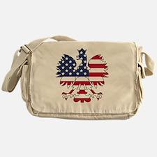 Polish American Eagle Messenger Bag