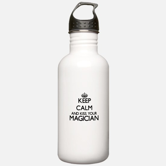 Keep calm and kiss you Water Bottle