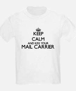 Keep calm and kiss your Mail Carrier T-Shirt