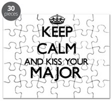 Keep calm and kiss your Major Puzzle