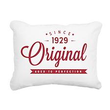 Since 1929 Original Aged Rectangular Canvas Pillow