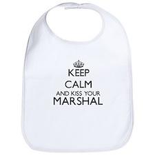 Keep calm and kiss your Marshal Bib