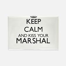 Keep calm and kiss your Marshal Magnets