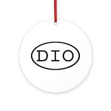 DIO Oval Ornament (Round)