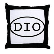 DIO Oval Throw Pillow