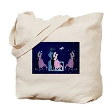 Barbier Proposal Love In The Stars Tote Bag