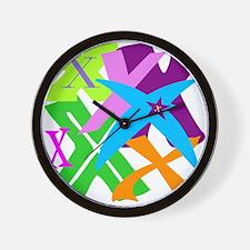 Initial Design (X) Wall Clock