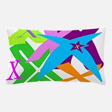 Initial Design (X) Pillow Case