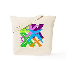 Initial Design (X) Tote Bag