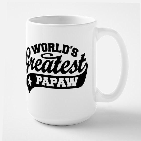World's Greatest Papaw Large Mug