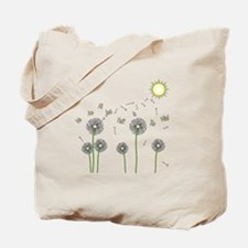We are all just fluff in the wind Tote Bag