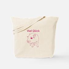 Piglet-Viel Glück-FREE TEXT Tote Bag