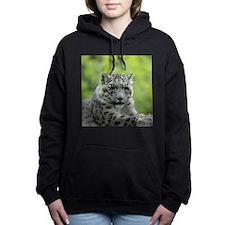 Leopard007 Women's Hooded Sweatshirt