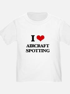 I Love Aircraft Spotting T-Shirt