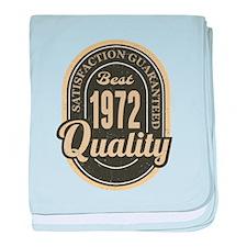 Satisfaction Guaranteed Best 1972 Qua baby blanket