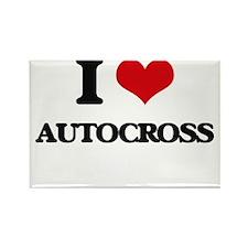 I Love Autocross Magnets