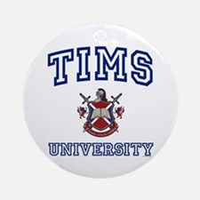 TIMS University Ornament (Round)
