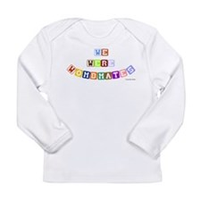 Cute Twins birthday Long Sleeve Infant T-Shirt